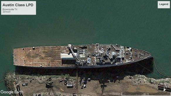 Austin Class Amph Land Dock LSD Brownsville 2014