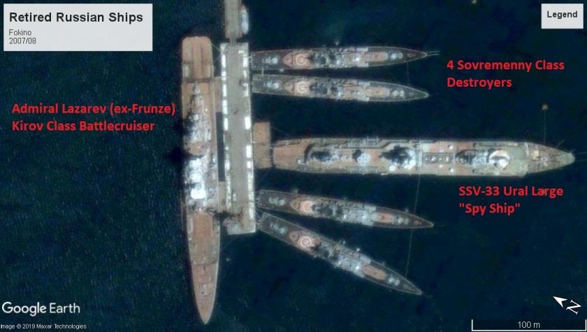 Fokino retired russian ships 2007