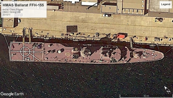 HMAS Stirling Anzac Class Frigate 2015