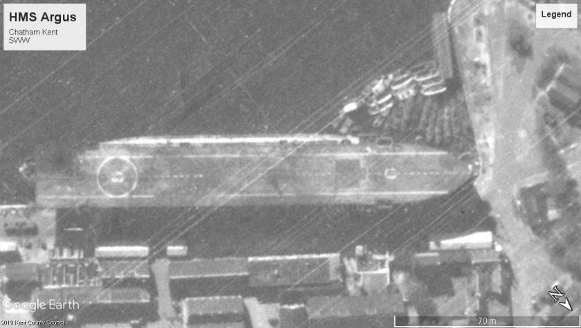 HMS Argus Chatham Kent SWW