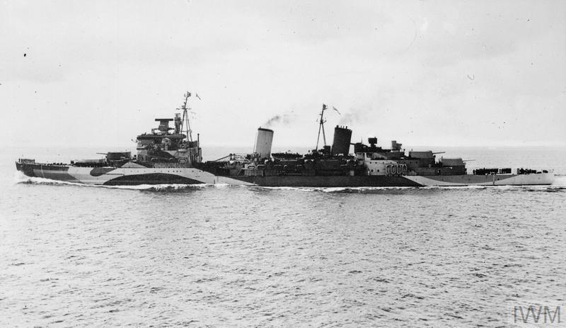 HMS Belfast IWM