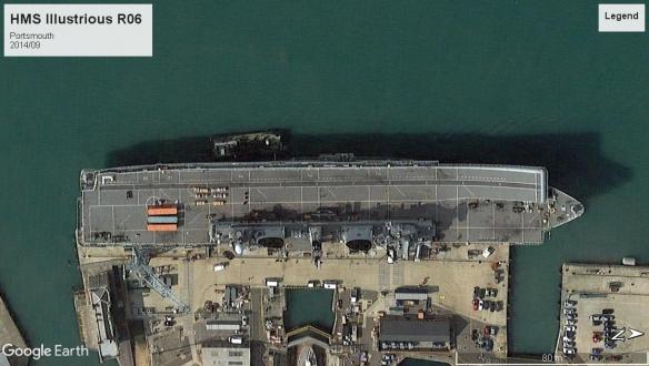 HMS Illustrious R06 Portsmouth 2014