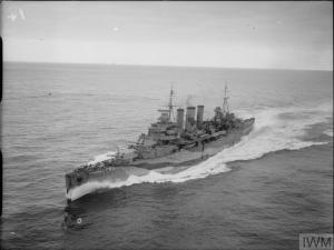 HMS Kent SWW