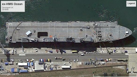 HMS Ocean Devonport 2018