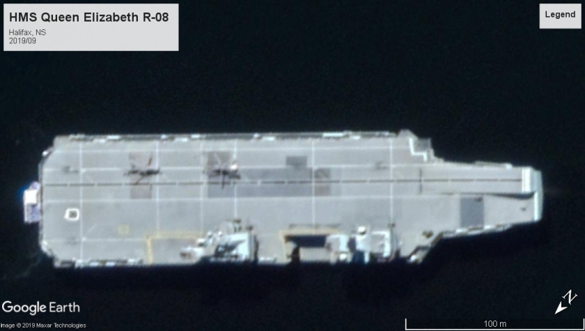 HMS Queen Elizabeth R08 Halifax 2019