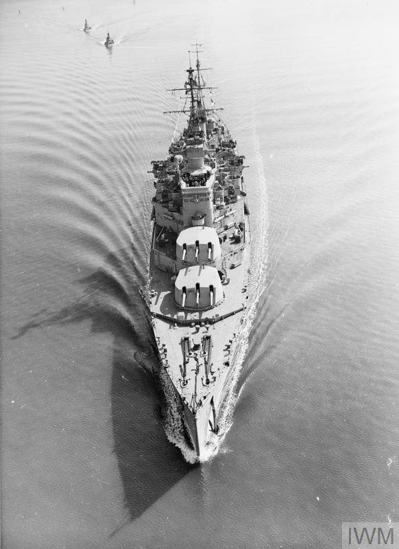 HMS Uganda SWW