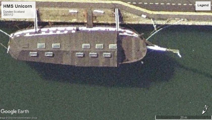 HMS Unicorn Dundee 2001