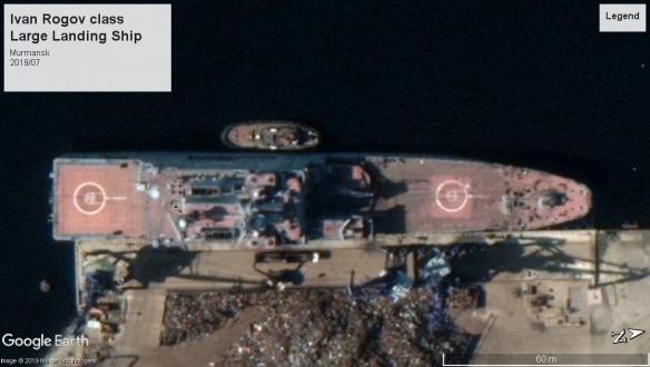 Ivan Rogov class landing ship Murmansk 2019
