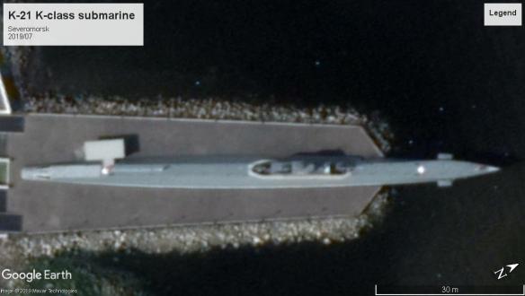 K-21 submarine severomorsk 2019