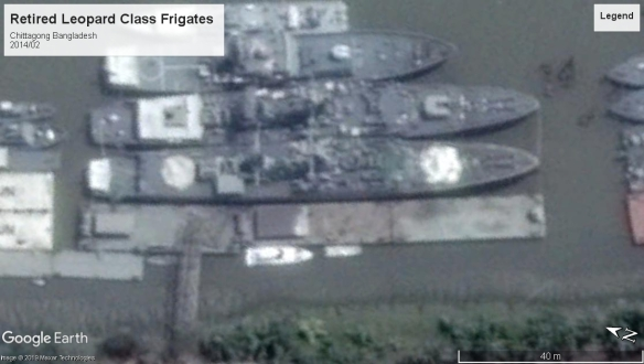 Leopard Class frigates Chittagong 2014