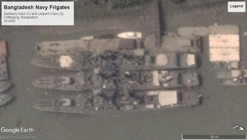 old British bangladesh frigates Chittagong 2014