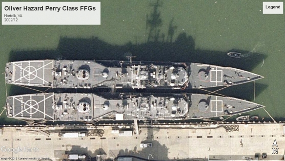 Oliver Hazard Perry frigates Norfolk 2002