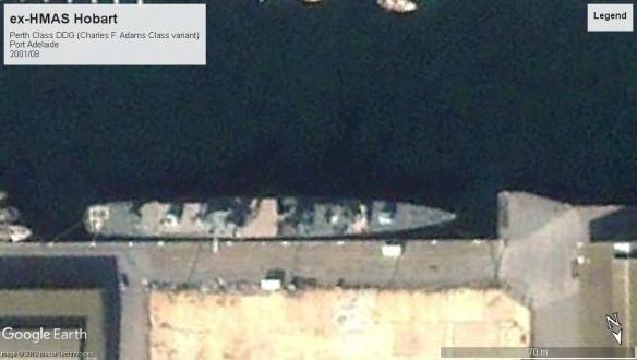 perth class DDG Hobart Port Adelaide 2001
