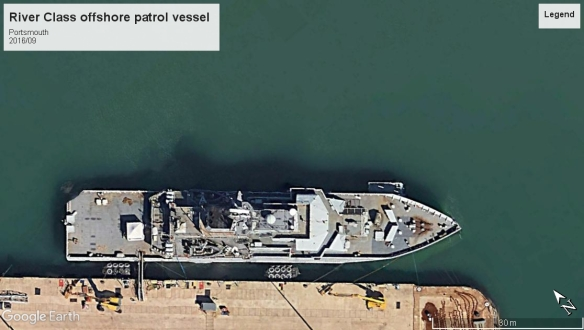 River class offshore patrol vessel