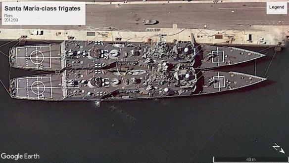 Santa María-class frigate rota 2012