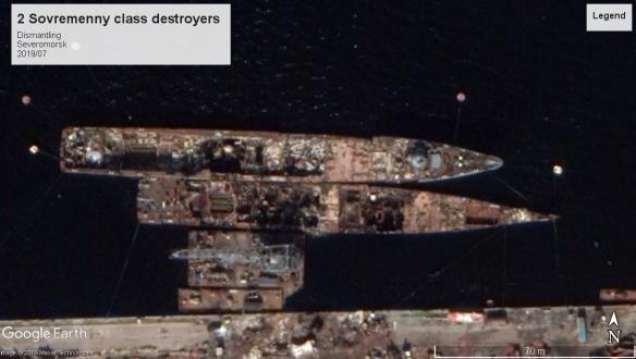 sovremenny class destroyers Severomorsk 2019