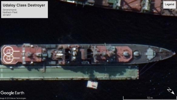 Udaloy class DD Severomorsk 2019