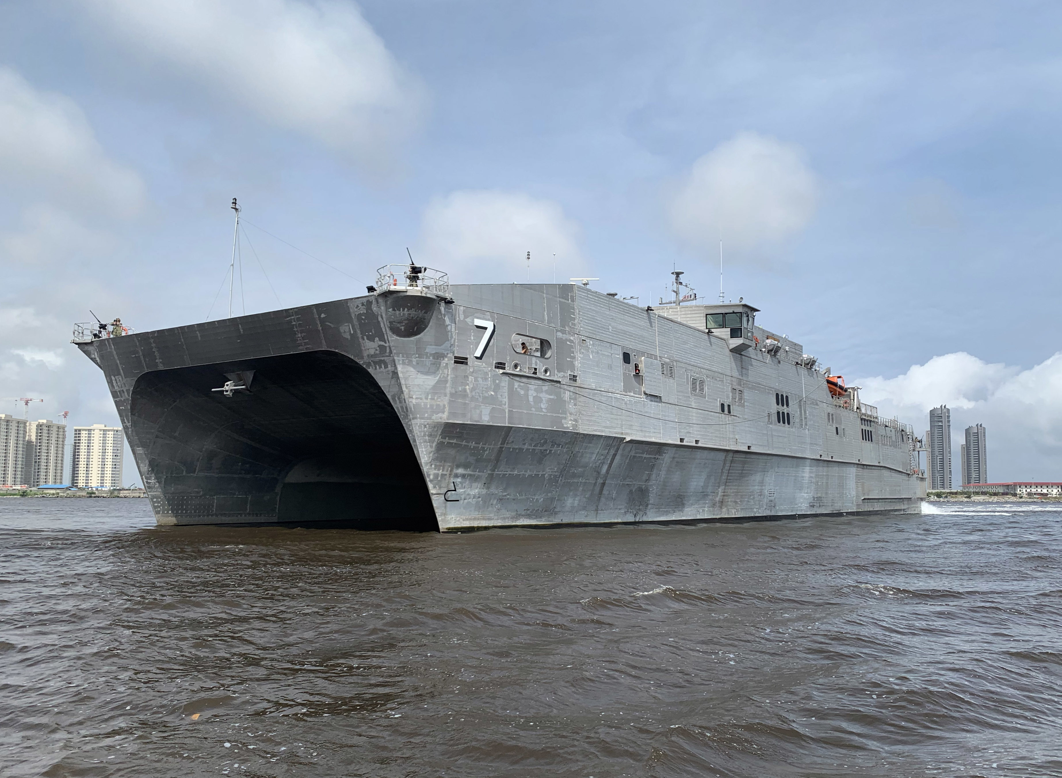 USNS Carson City Arrives in Mindelo, Cabo Verde