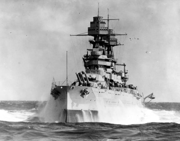 USS Arizona 80-G-463589