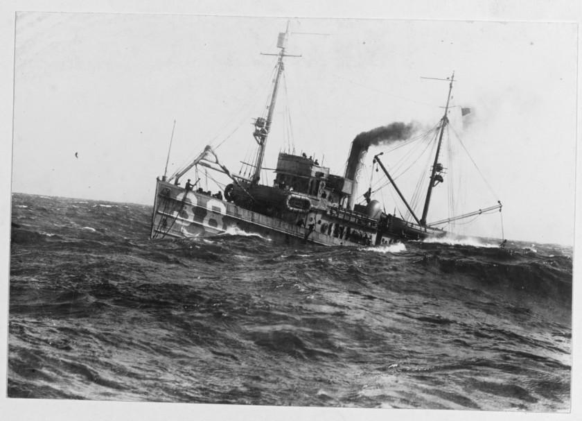 USS Auk AM-38 NH 45252