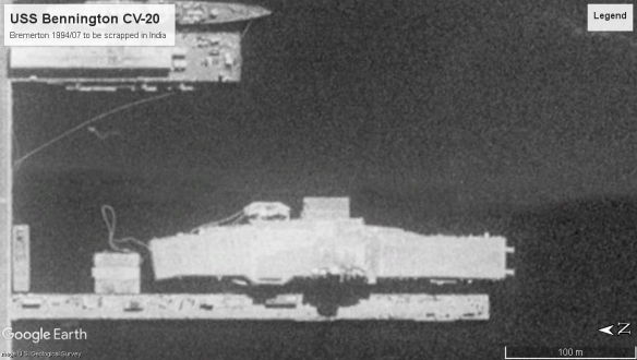 USS Bennington CV20 Bremerton 1994