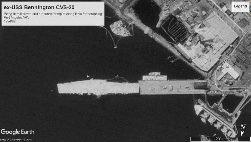 USS Bennington CV20 Port Angeles WA 1994