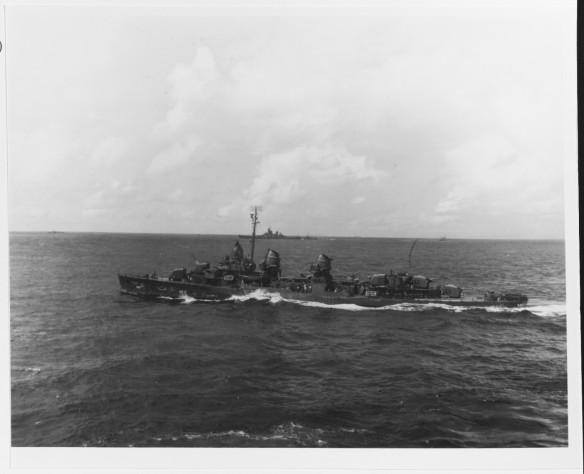 USS Charrette DD-581 Leyte Gulf 80-G-K-2191