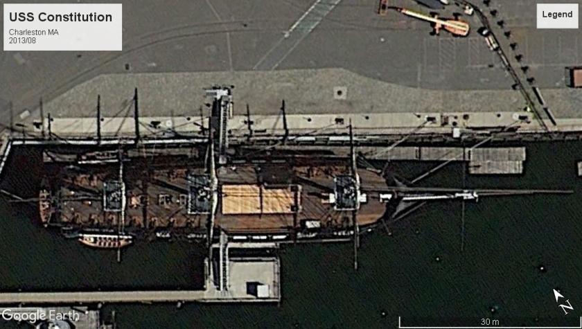 USS Constitution boston 2013