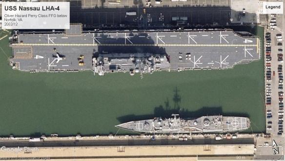 USS Nassau LHA-4 Norfolk VA 2002