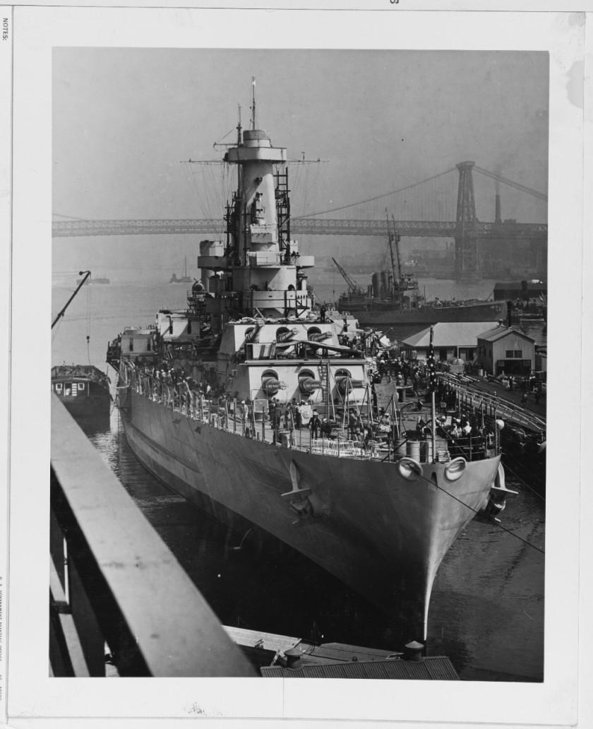 USS North Carolina BB-55 NH 61326