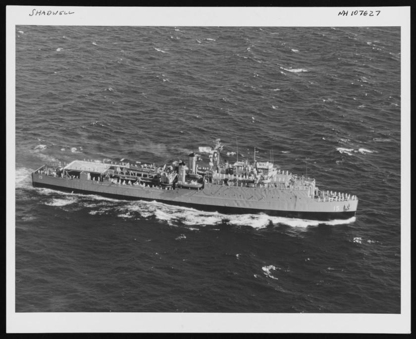 USS Shadwell LSD-15 1968 NH 107627