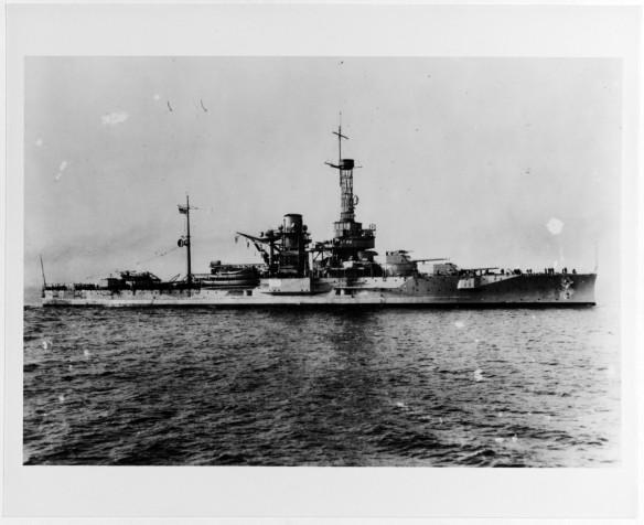 USS Utah BB-31 NH 50227