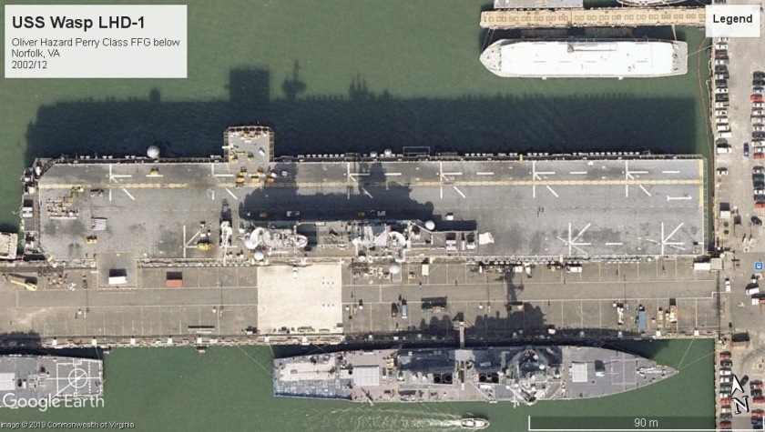 USS Wasp LHD-1 Norfolk VA 2002