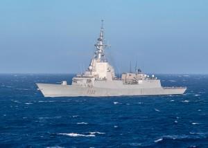 Almirante Juan de Borbon Conducts a Photo Exercise