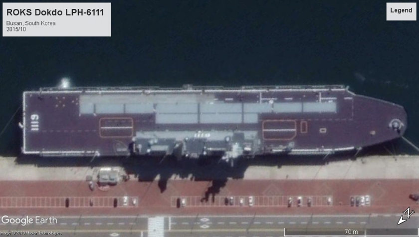 Dokdo LPH-6111 Busan S Korea 2015