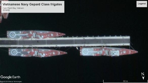 Gepard Class Frigates Cam Rahh VT 2018