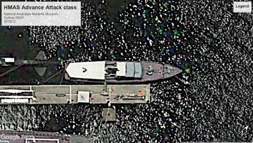 HMAS Advance Sydney 2018