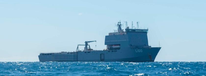 USS Green Bay conducts Talisman Saber 17