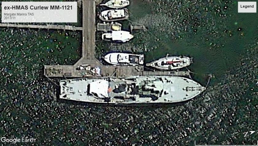 HMAS Curlew TAS 2017