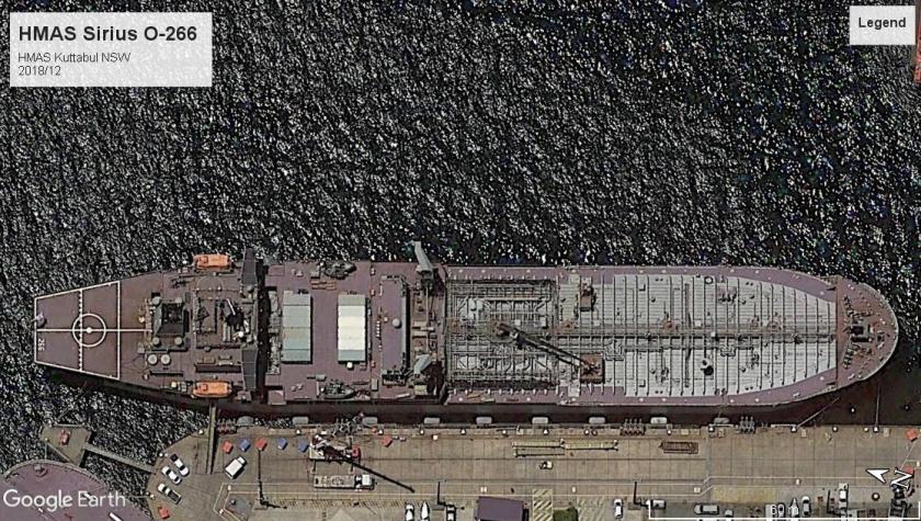 HMAS Sirius O-266 Kuttabul 2018