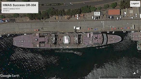 HMAS Success OR-304 Kuttabul 2018