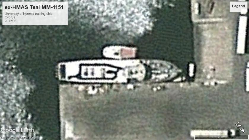 HMAS Teal Cyprus 2012