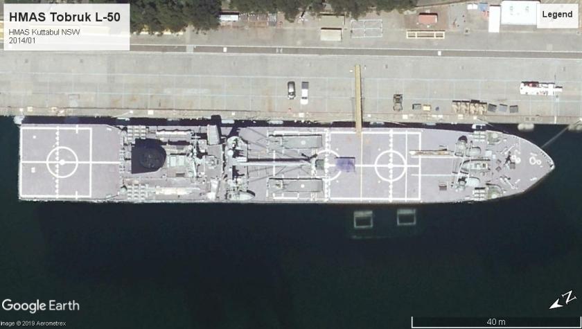 HMAS Tobruk Kuttabul 2014
