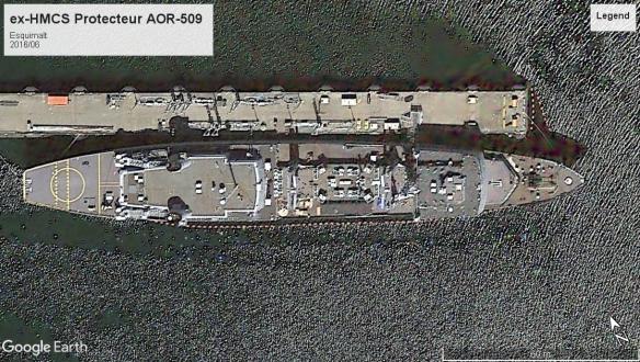 HMCS Protecteur Esquimalt 2016
