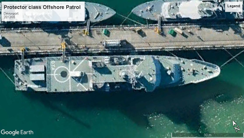 HMNZS Otago protector class Devonport 2012