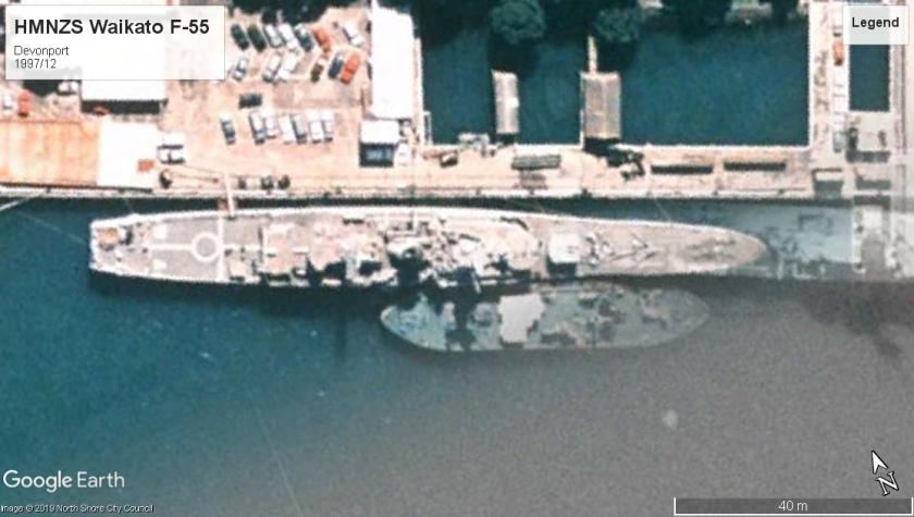 HMNZS Waikato devonport 1997