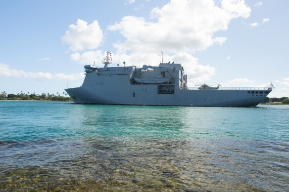 Ships depart: Sea phase of Rim of the Pacific (RIMPAC) Exercise 2014