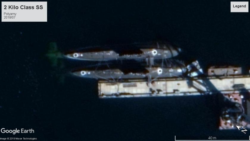 Kilo class SS Polyarny 2018