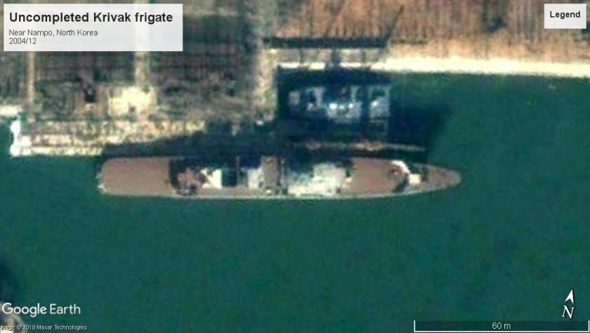 krivak frigate Nampo NK 2004
