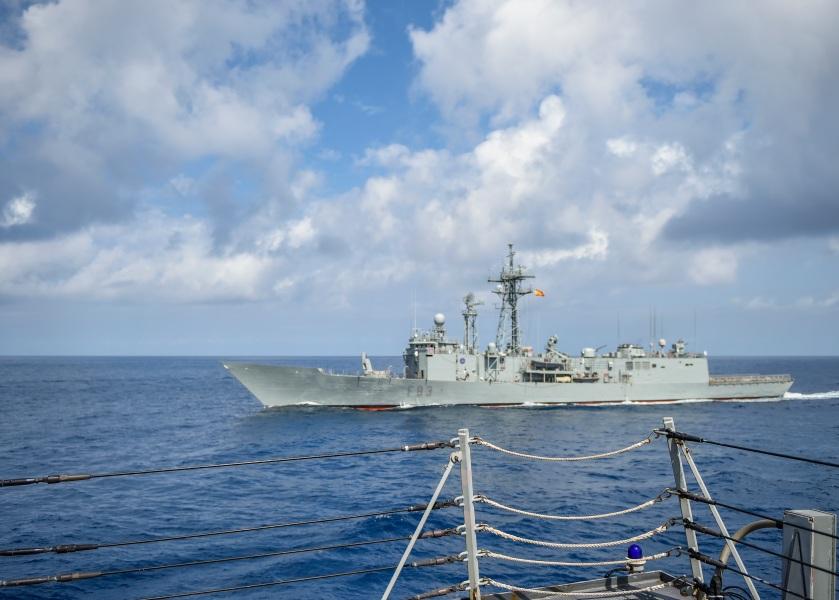 USS Bainbridge Deployment